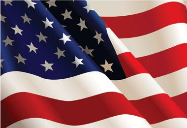 US Flag for feature on international law firms in Ireland