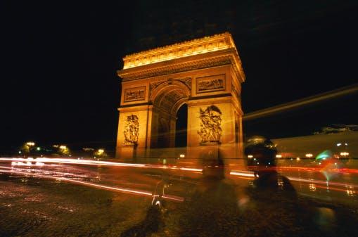arc de triomphe paris france