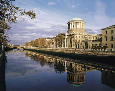 four courts dublin ireland