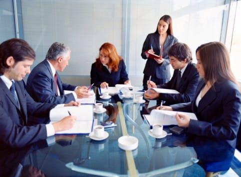 Lawyers meeting
