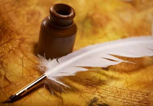 quill manuscript