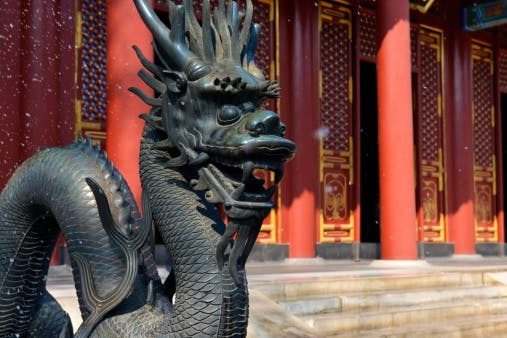 Beijing dragon