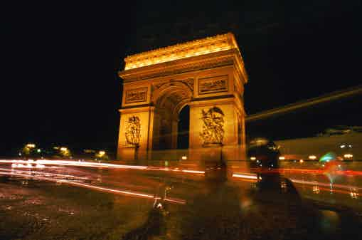 arc de triomphe paris france