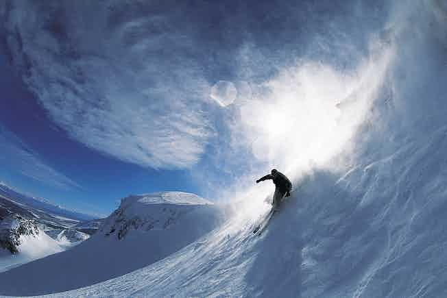 ski skiing sport