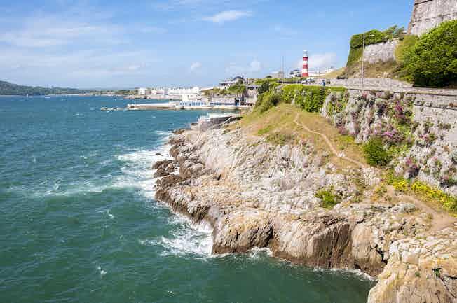 Plymouth sea hotel coast shore ocean