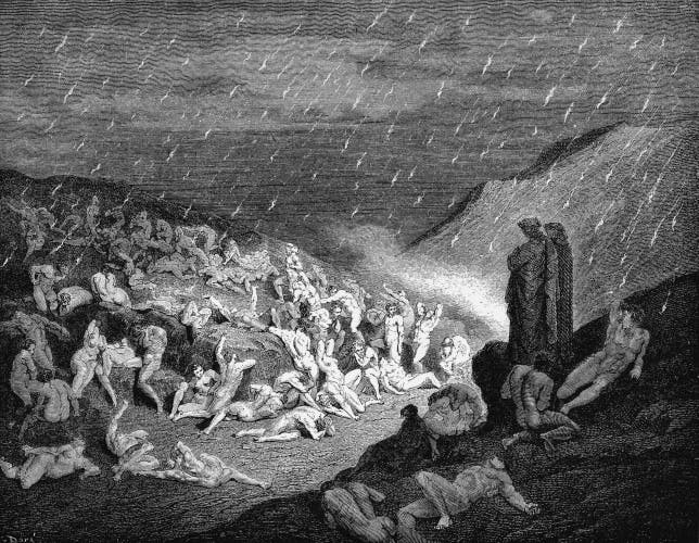 Dante Dante's inferno hell