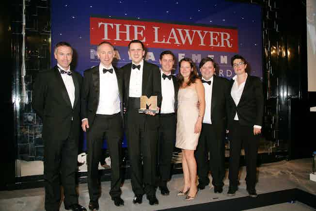 Law firm management team of the year