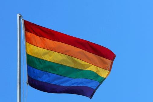LGBT LGB flag rainbow gay diversity