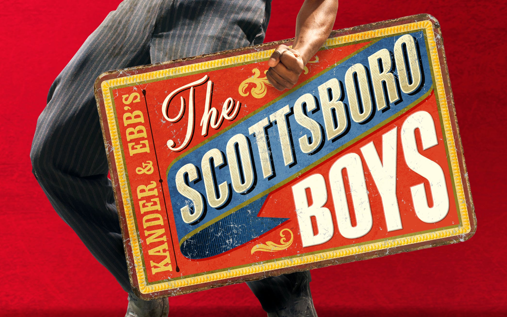 The Scottsboro boys banner