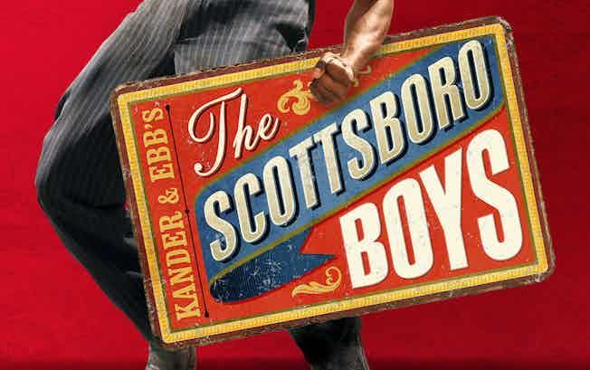 The Scottsboro boys banner