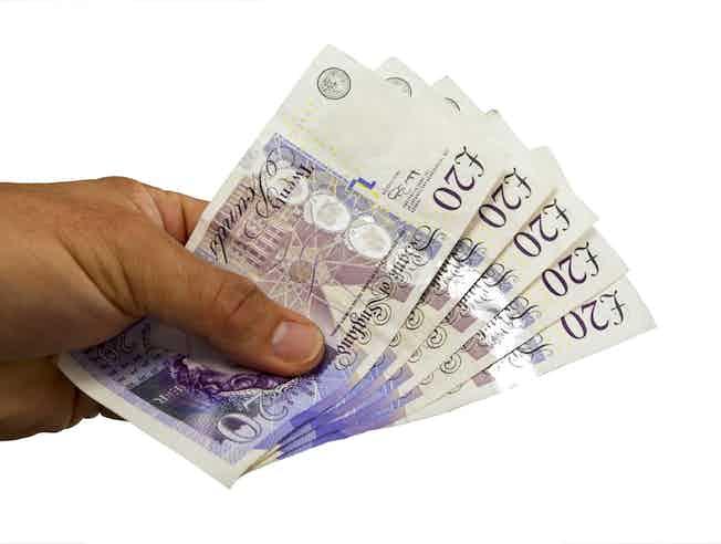 lending money