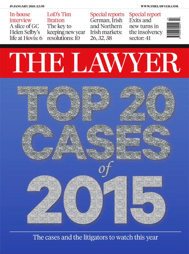 19 January 2015 cover