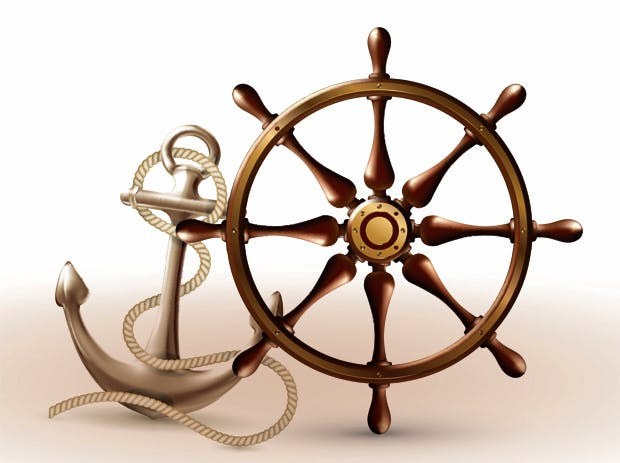 Helm Wheel anchor