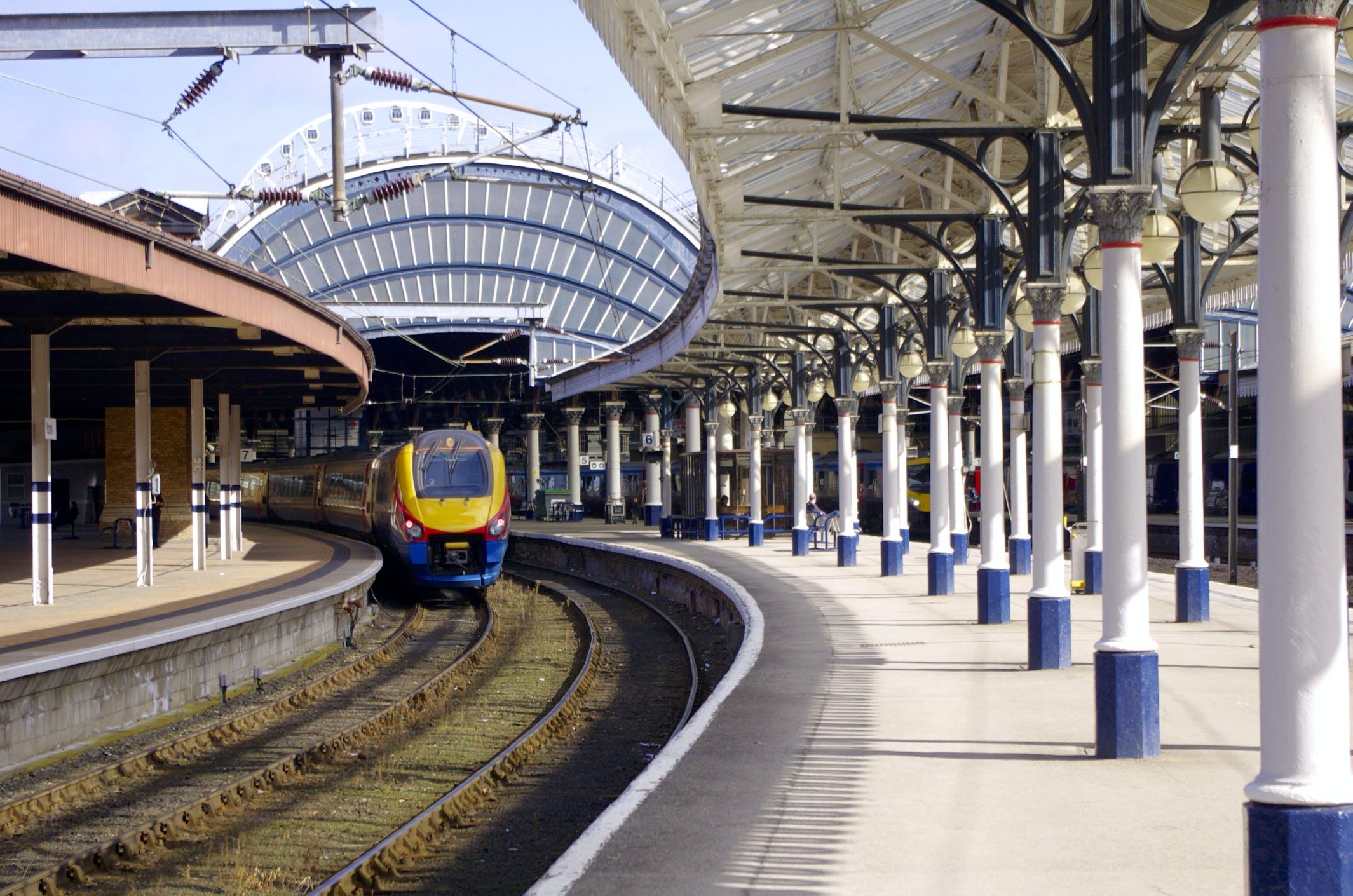 train rail track railway