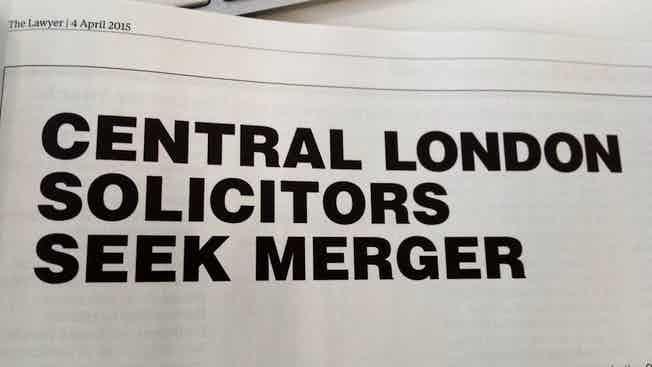 merger ad