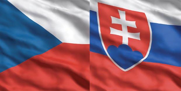 Czech Slovak flag index