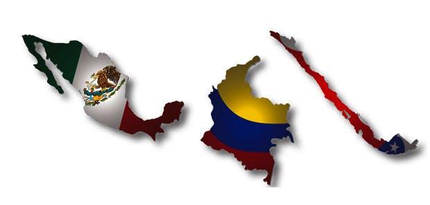 Latin America flags index