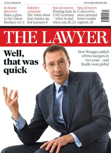 The Lawyer front cover 27 July 2015