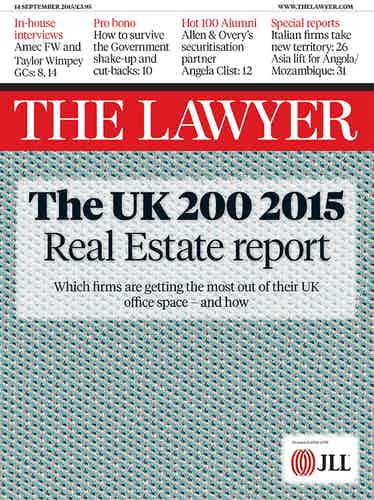 The Lawyer 14 September 2015 front cover