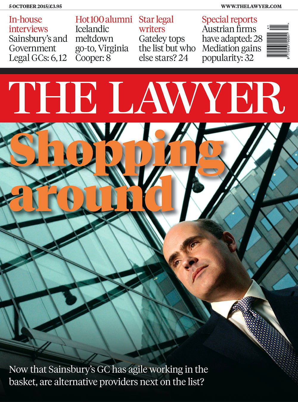 The Lawyer 5 October 2015 cover