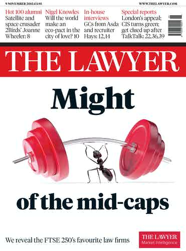 The Lawyer 9 November 2015