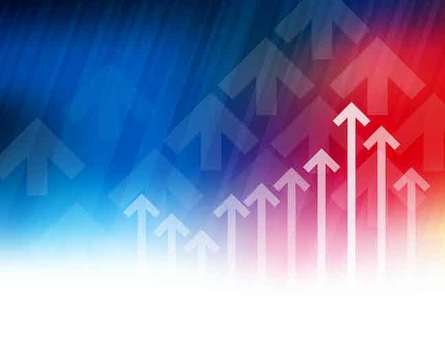 FTSE arrow growth ranking