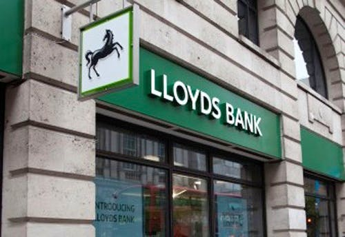 Lloyds Banks index