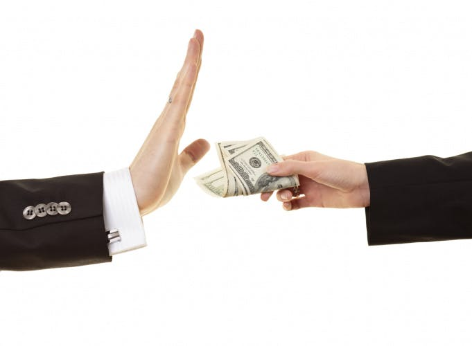 bribery corruption