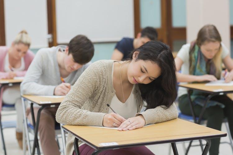 exam, test, classroom