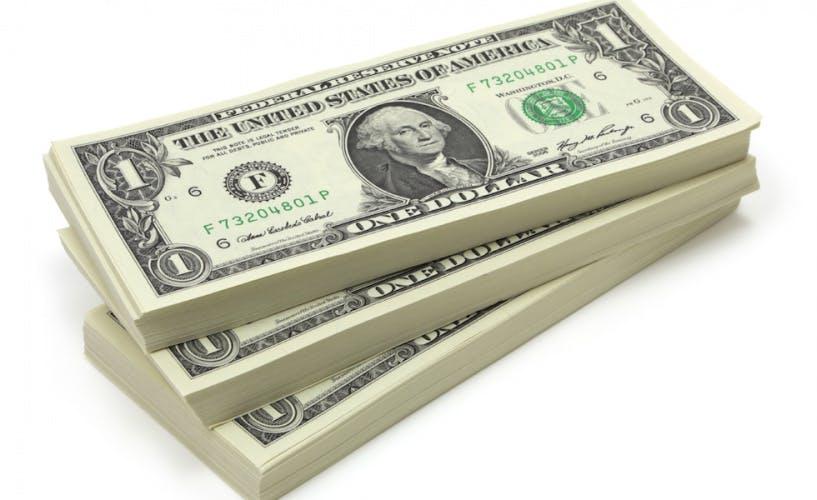 dollars money stack