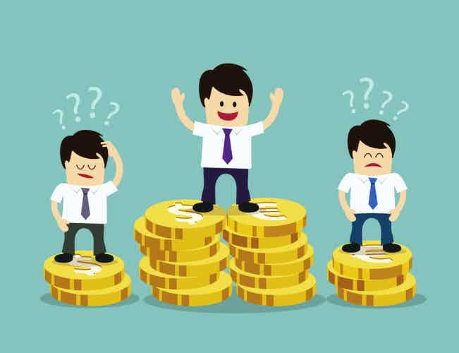salary money