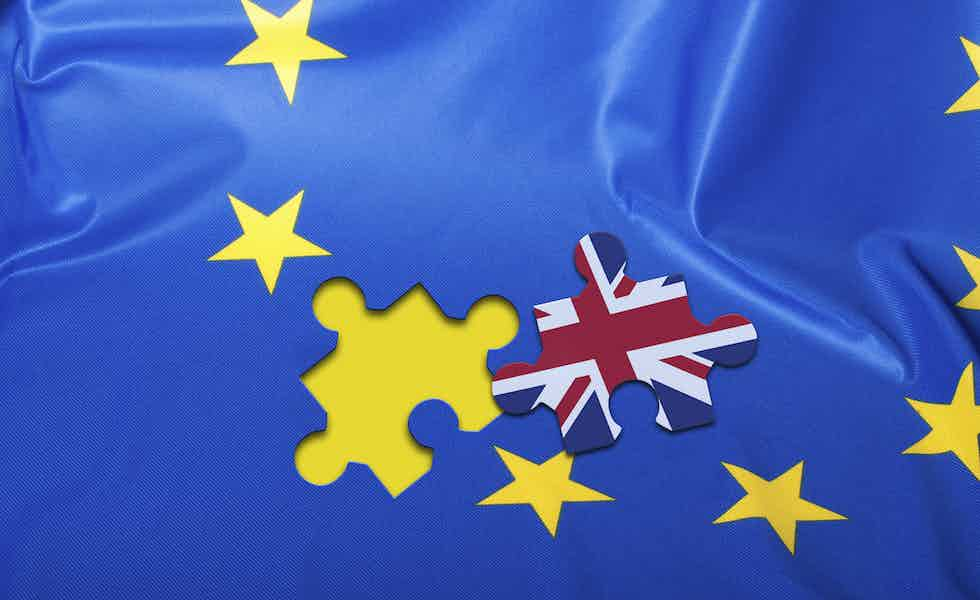 Brexit - Flag of European Union