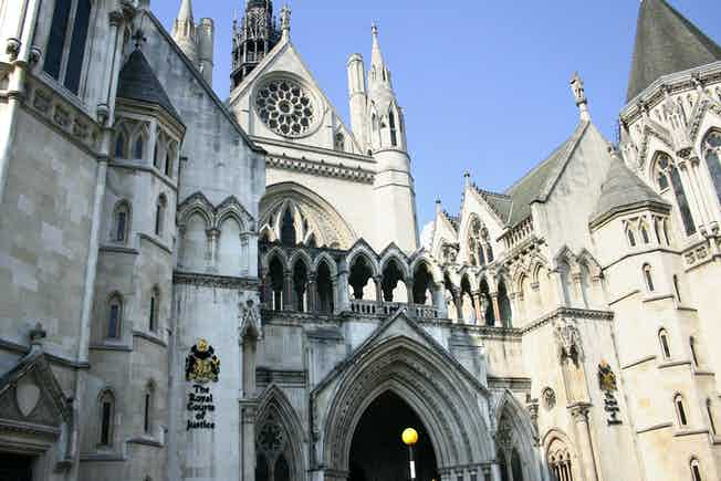 royal courts of justice - Top 20 Cases