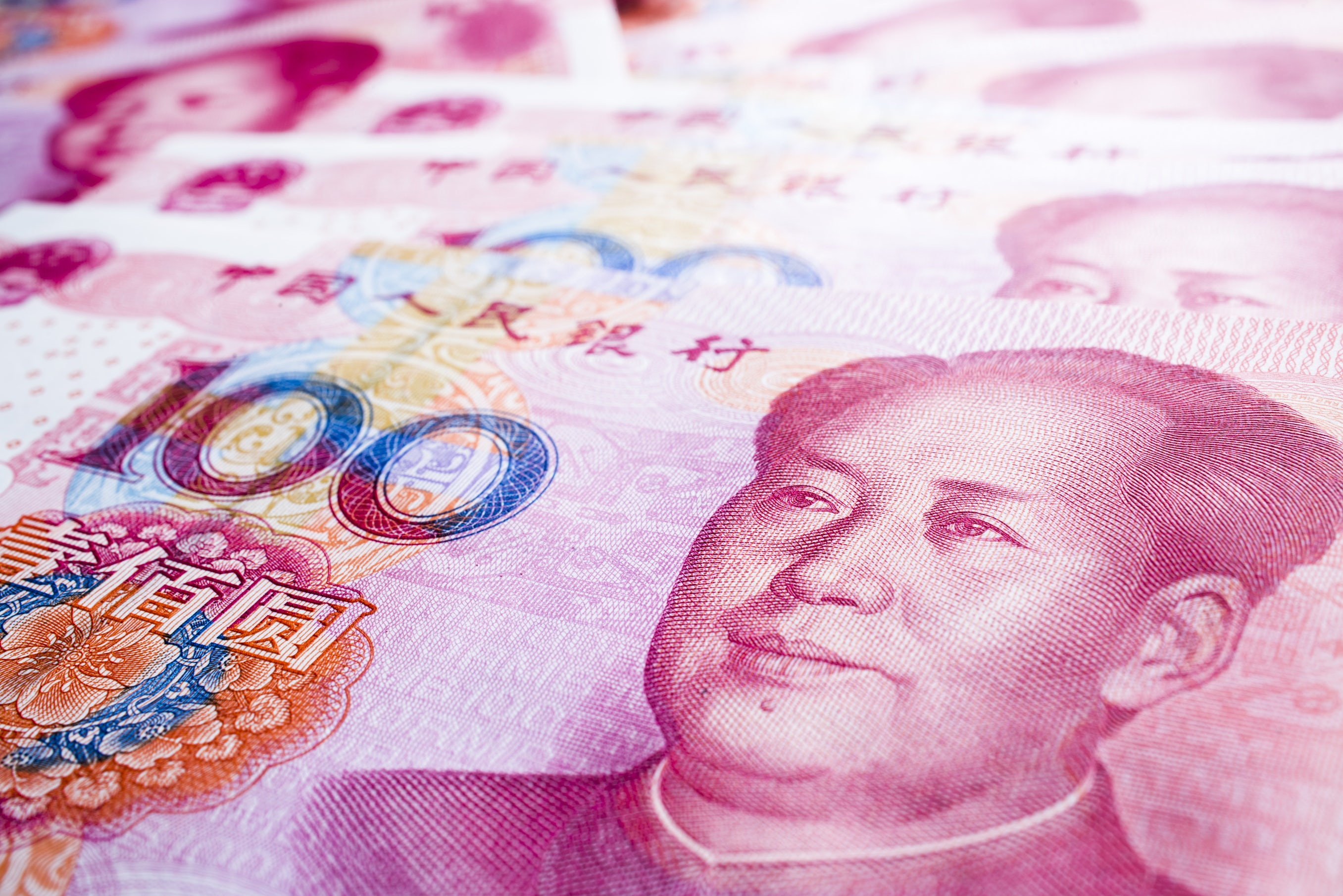 Chinese currency RMB China