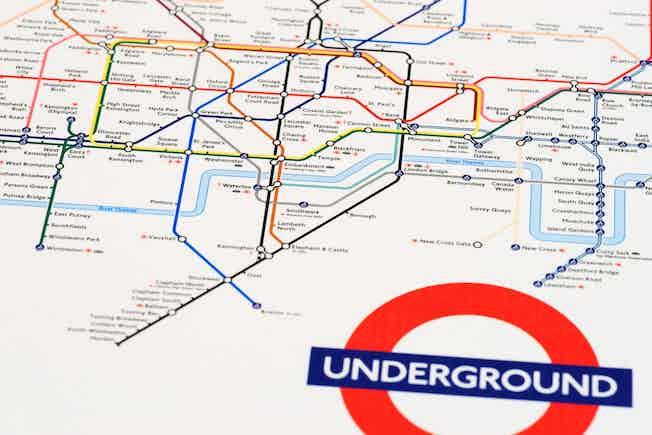 Tube, Tfl, map
