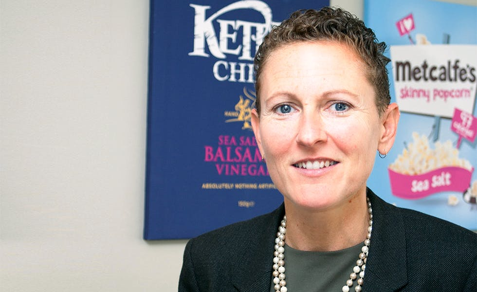 Kathy Atkinson, legal director, Kettle Foods gives advice for career clinic on find time job search
