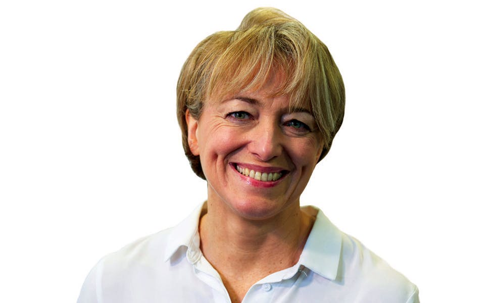 picture of Catrin Griffiths to illustrator her opinion piece that law firms need better ways to manage partner retirement