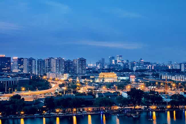 Beijing skyline, China cityscape