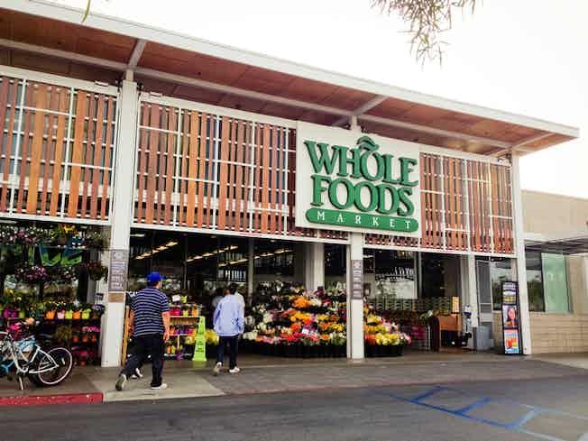 Whole Foods supermarket