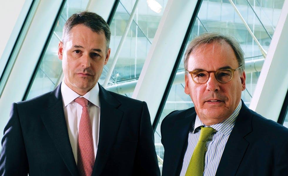 Jeremy Hoyland and Colin Passmore