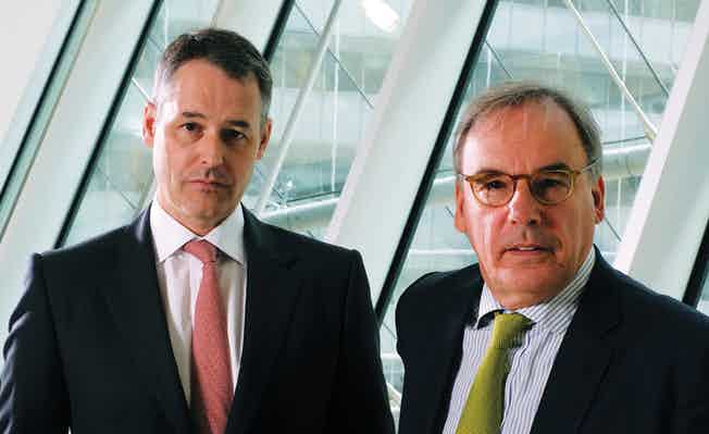 Jeremy Hoyland and Colin Passmore