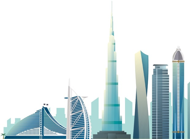 International firms with an office in the Middle East