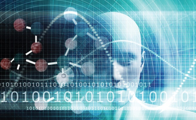 illustration of robot, artificial intelligence for legal technology litigation law firms feature
