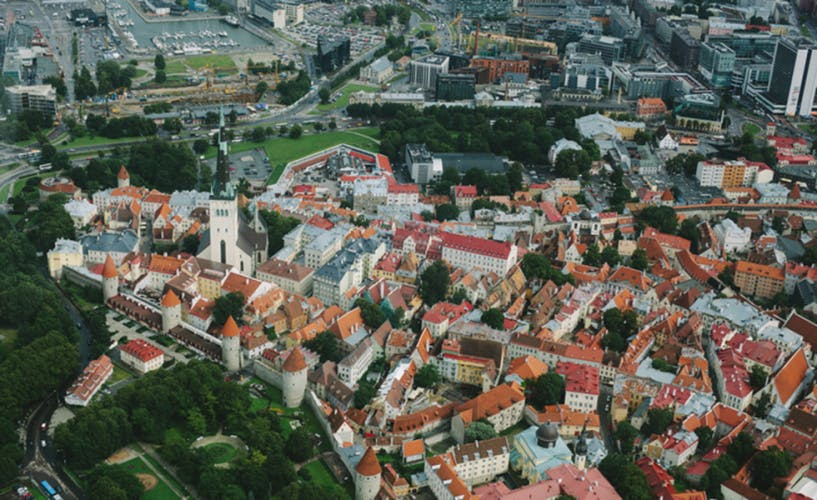 Picture of Tallinn, Estonia, in CEE to illustrate infrastructure