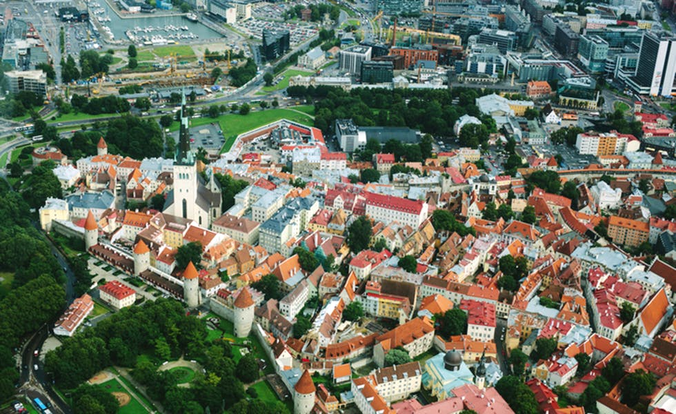 Picture of Tallinn, Estonia, in CEE to illustrate infrastructure projects CEE