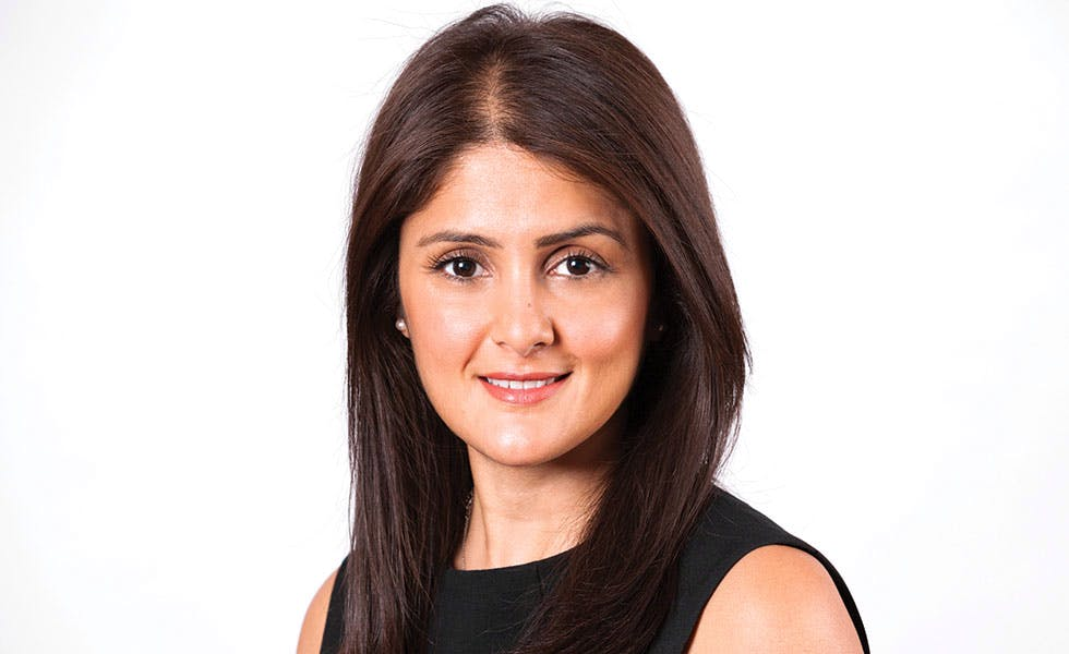 Picture of Vidisha Joshi, Hodge Jones & Allen managing partner to illustrate The Lawyer Hot 100 Vidisha Joshi, Hodge Jones & Allen career quiz