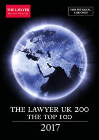 The Lawyer UK 200 2017 cover for article on the top 200 UK law firms