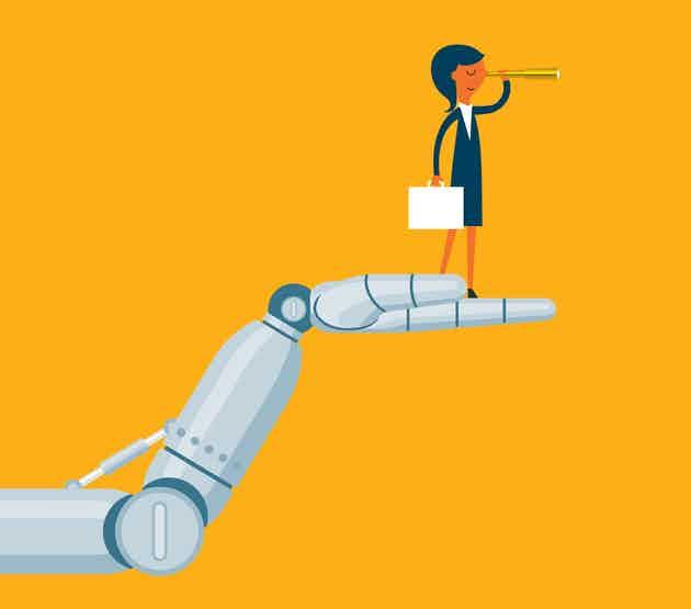Future - tech - robot - business