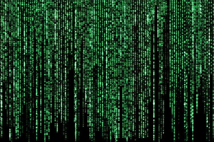 code, technology, binary