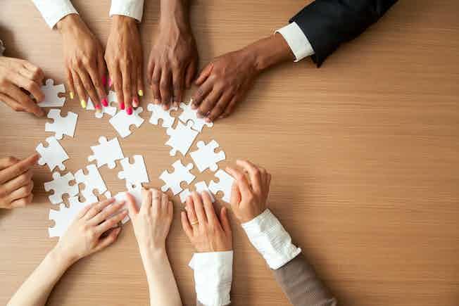 team building, jigsaw